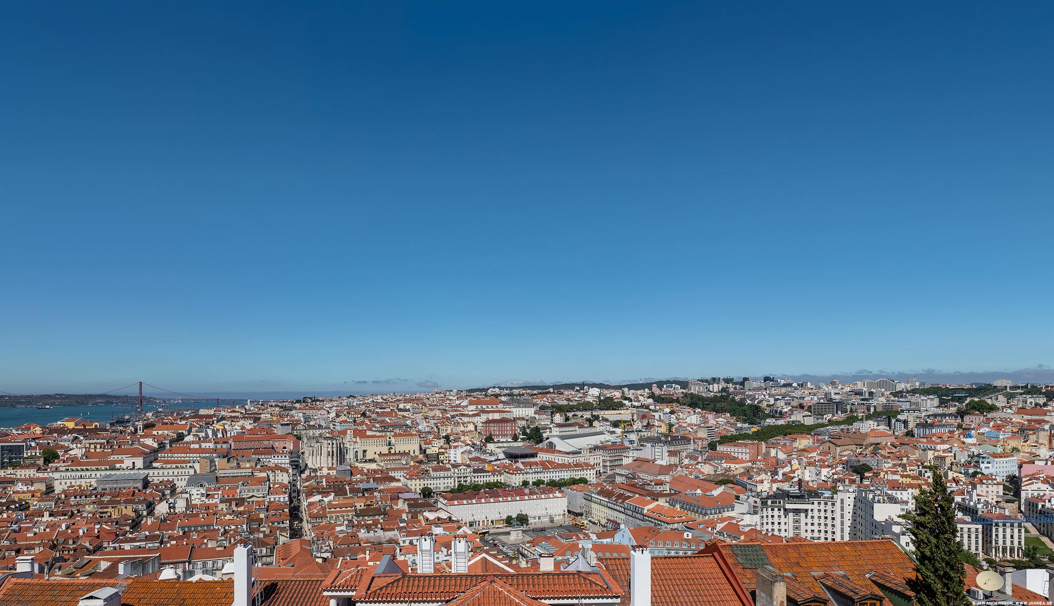 Panorama över Lissabon |© Jan Andersson