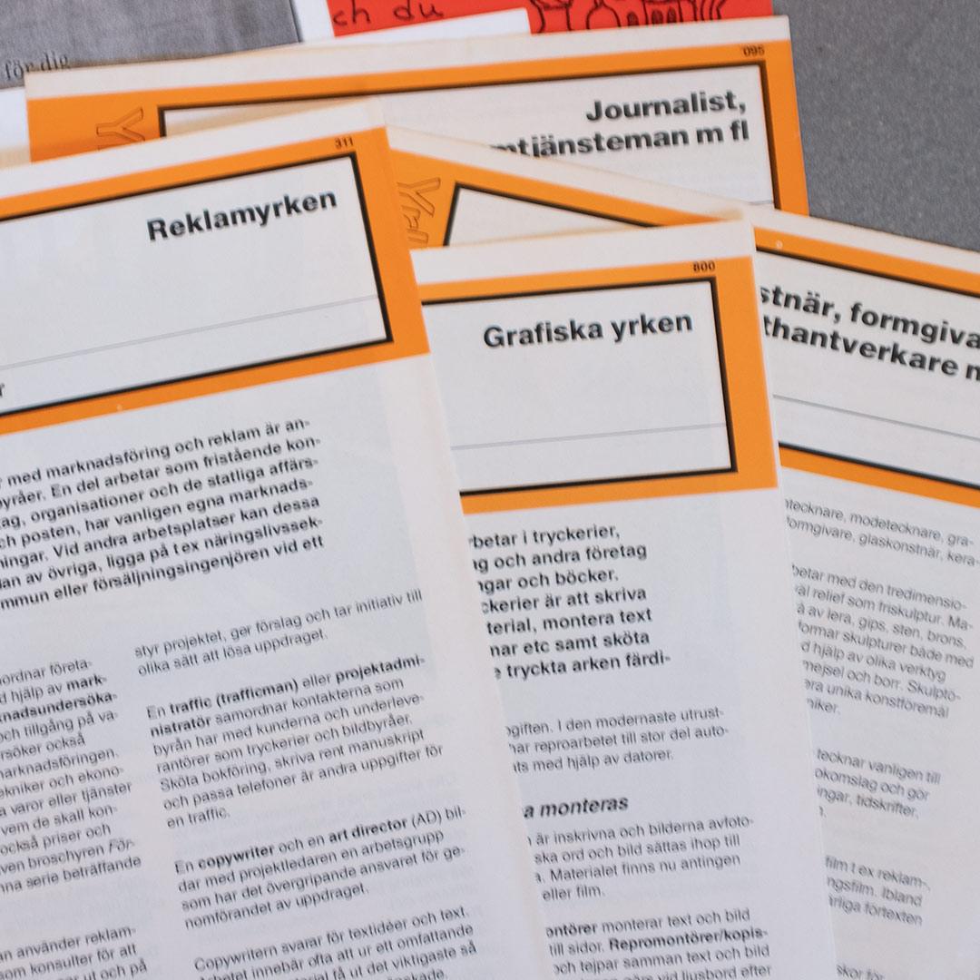 Det där att välja sin karriär redan i högstadiet |©Jan Andersson