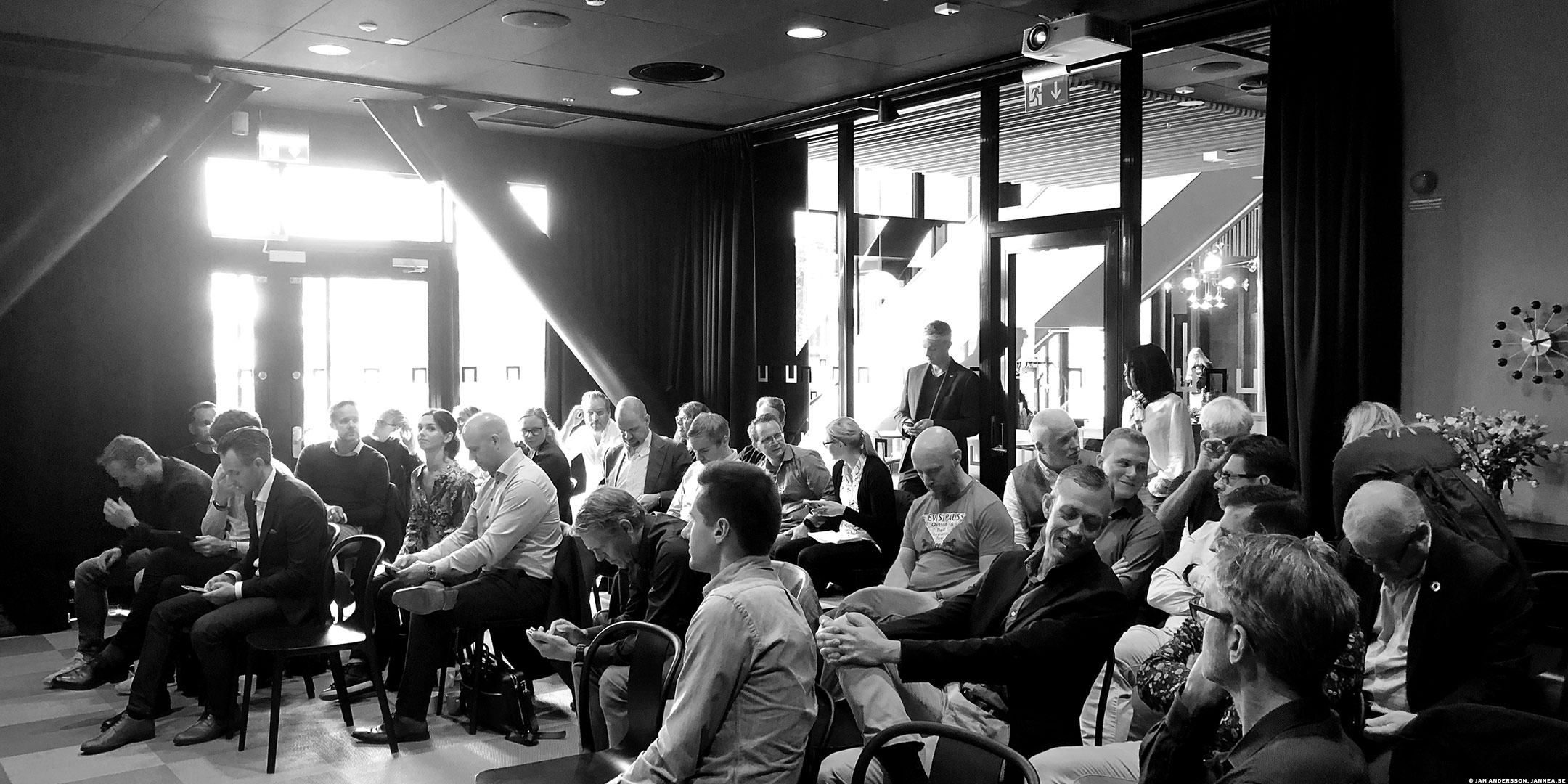 Ett möte mellan experter | © Jan Andersson