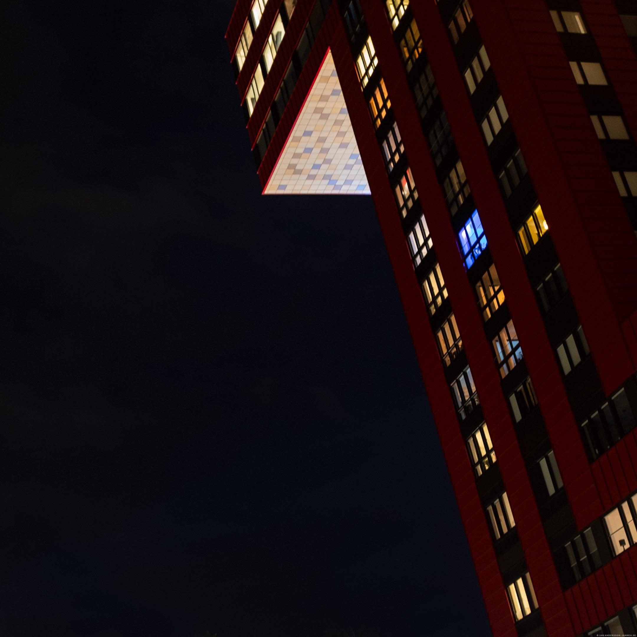 Mörker och en massa fönster |© Jan Andersson