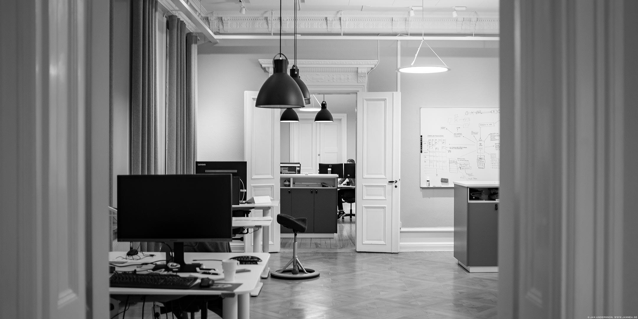 Det är en tisdag på jobbet och efter fem är det nästan tomt |©Jan Andersson