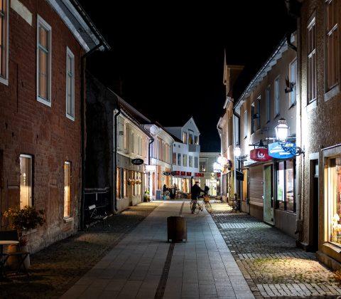 Det är november i den lilla staden (och lugnet vilar över den)|©Jan Andersson