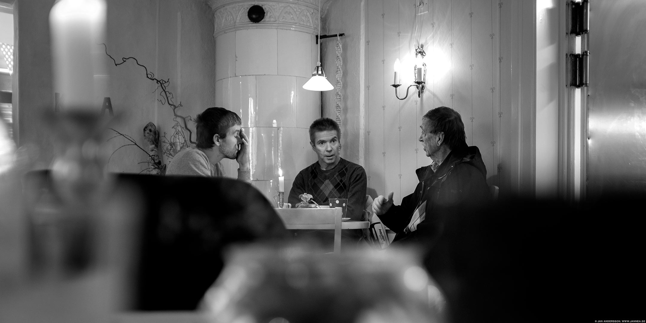 Fikande män på GK |© Jan Andersson