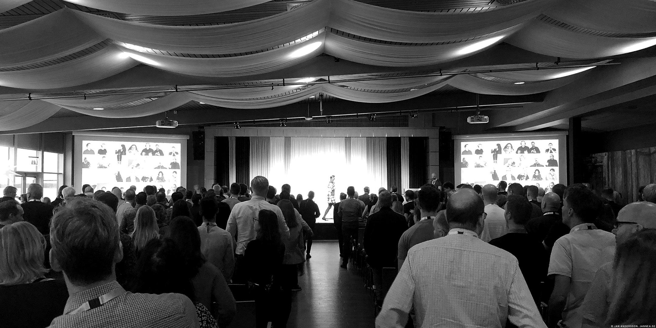 Kickstartad morgon och en dag fylld av föreläsningar och människor |©Jan Andersson