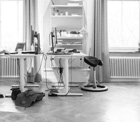 ...och på jobbet jobbas det med saker|©Jan Andersson