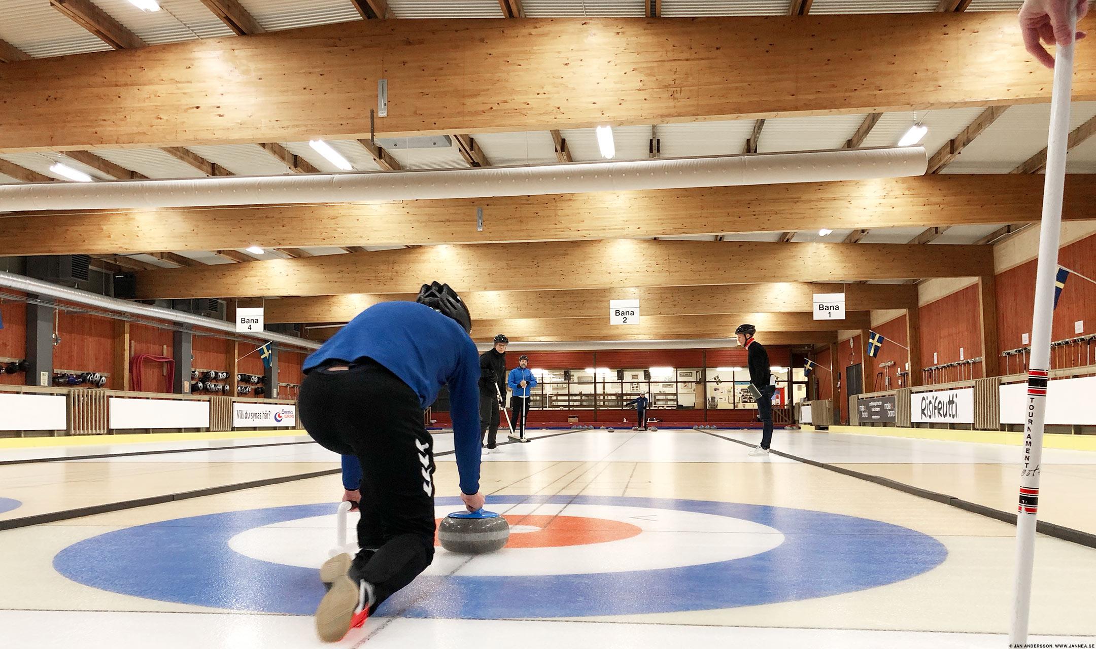 En utflykt med Curling i Örebro