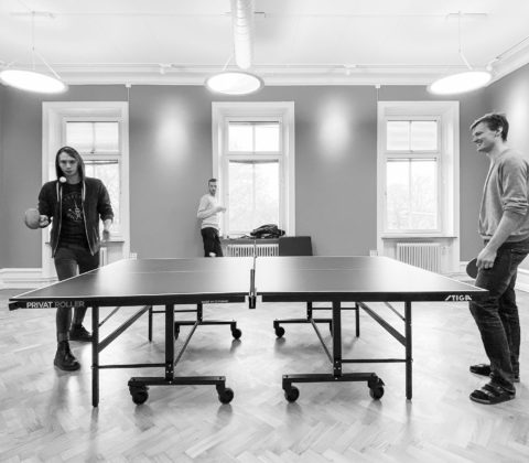 It's the ping-pong show