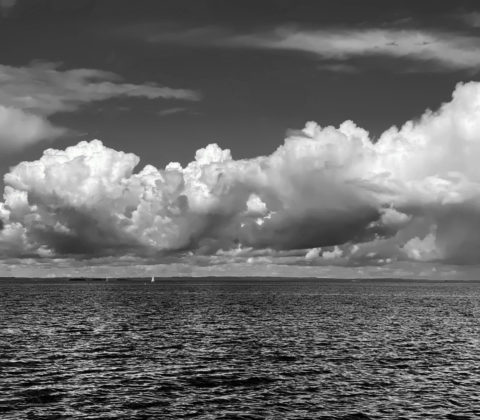 Dagens fika, dagens stros och dagens sjö