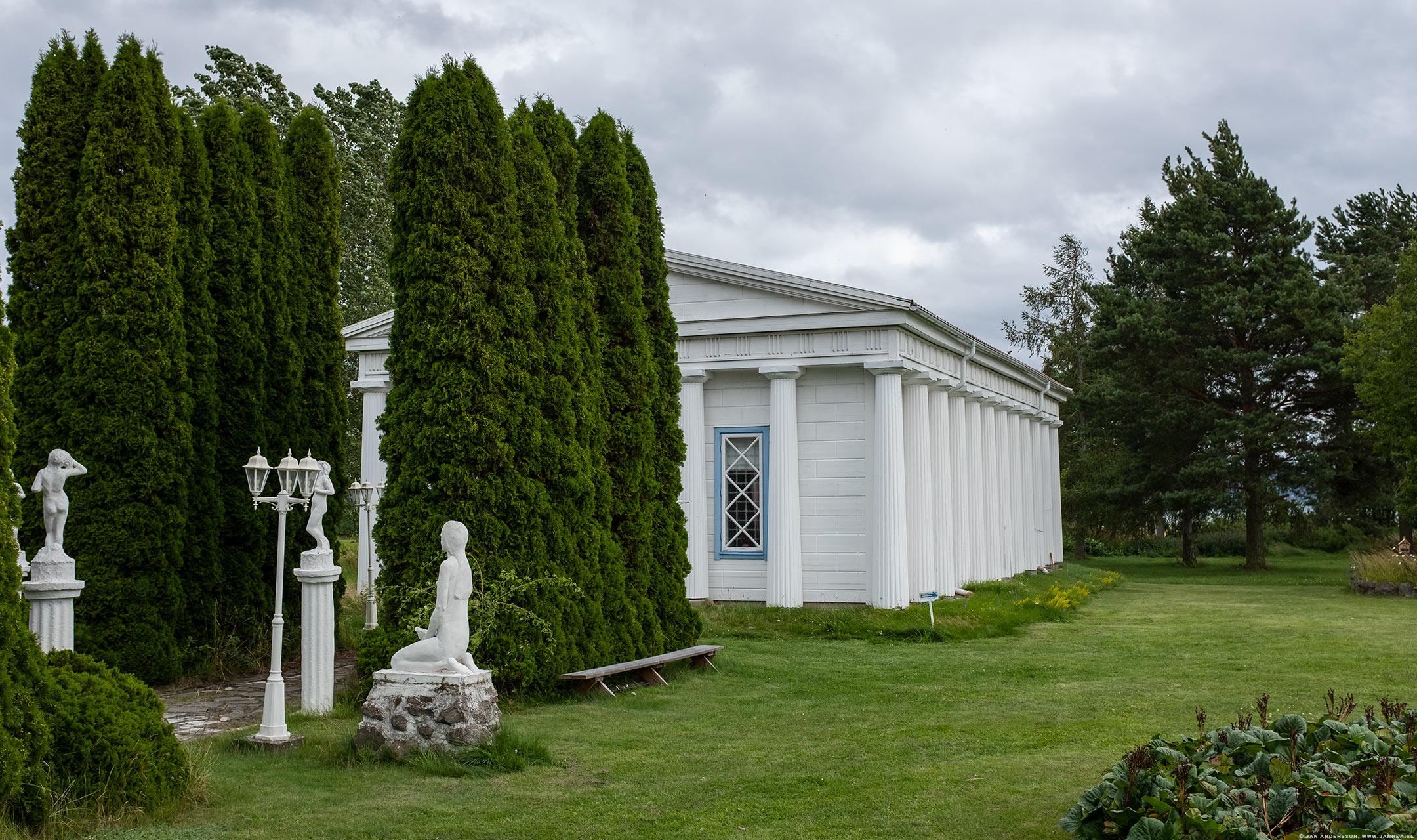 Visingsökonstnären Olle och hans Tempelgård