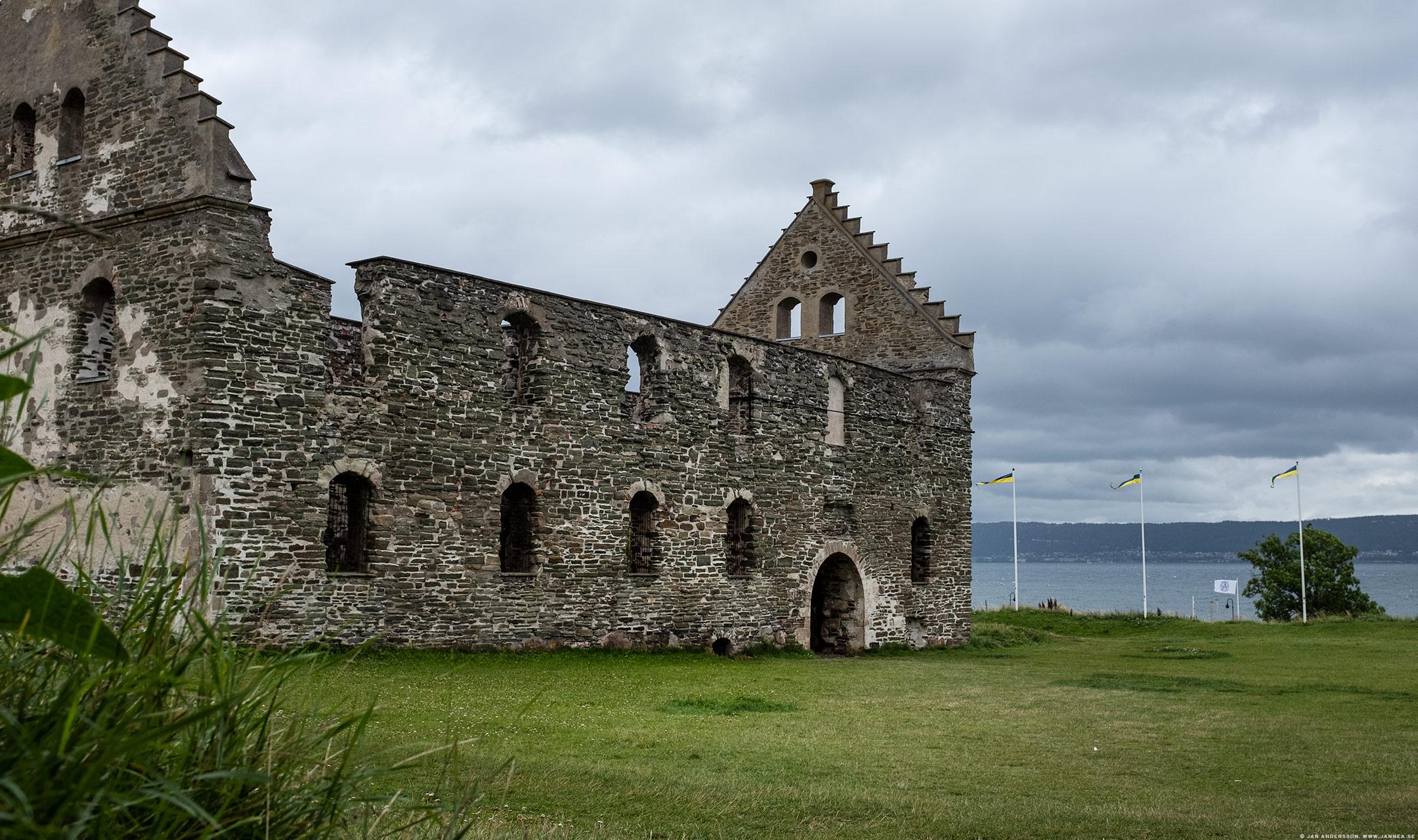 Visingsborgs slottsruin