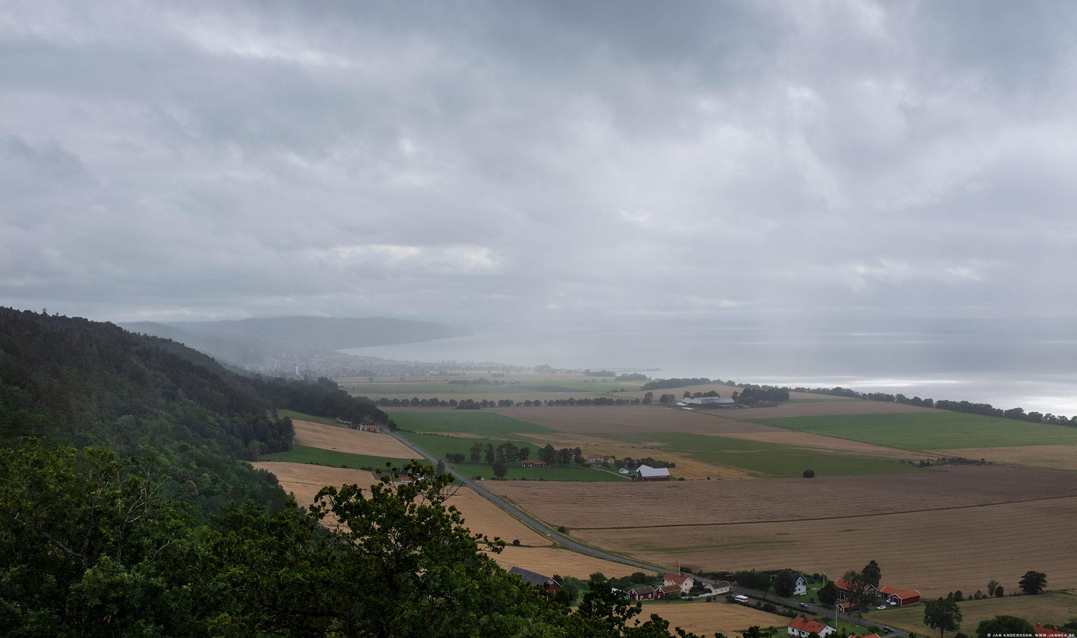 Väder över Gränna och Visingsö