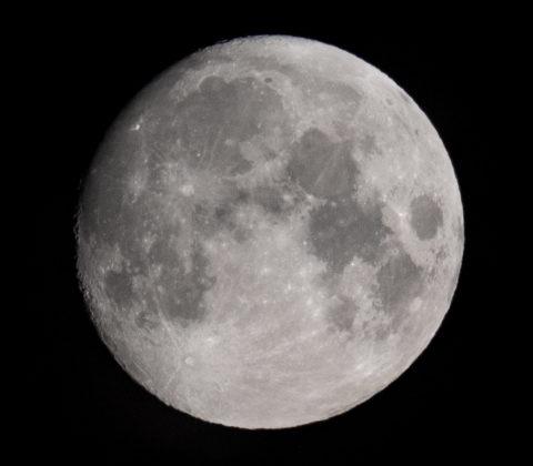 Månen: 94,1% och tilltagande