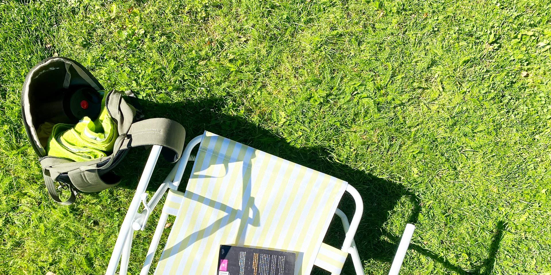 En söndag i sol och lathet