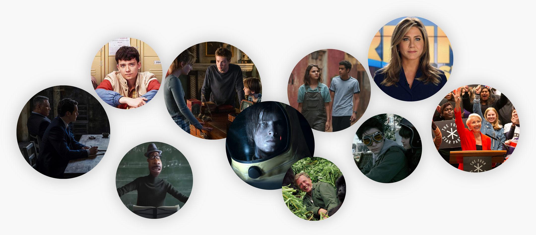 Det där att kolla på rörliga bilder (Film- och serieåret 2020)