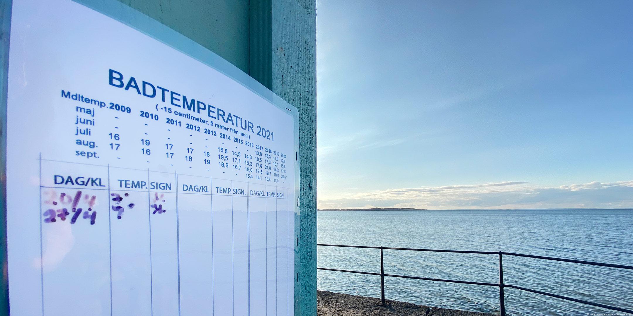 7° C är ungefär 20 för få