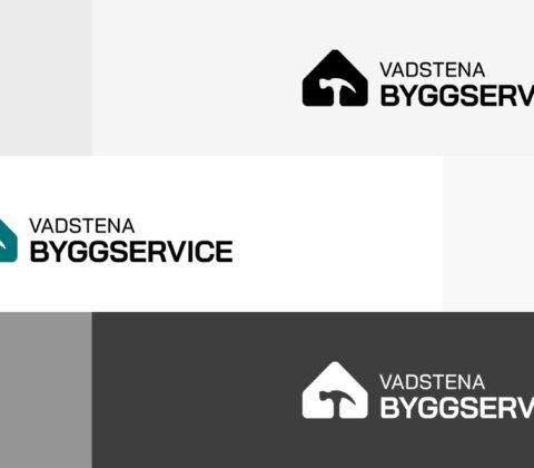 En logotype för bygg- och servicearbeten